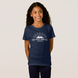 """""""that others may live"""" girls tee"""