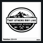 """That others may live wall decal<br><div class=""""desc"""">Wall decal with Mt. Hood on a transparent background</div>"""