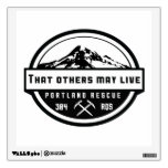 That others may live wall decal<br><div class='desc'>Wall decal with Mt. Hood on a transparent background</div>