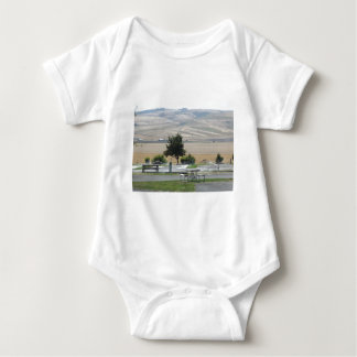 That Pendleton Hill from the Campground Baby Bodysuit