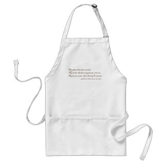That Place That Does Contain My Books Adult Apron