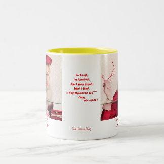 that precious thing Two-Tone coffee mug