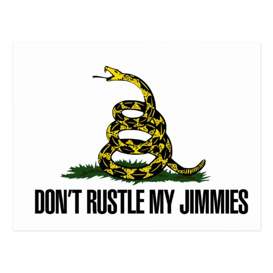 That Really Rustled My Jimmies Postcard