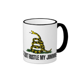That Really Rustled My Jimmies Ringer Mug