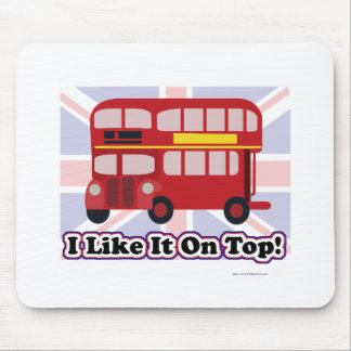 That Red British Bus Mouse Pad