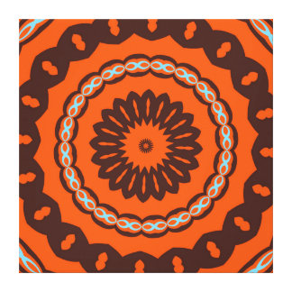 That Retro Feel share one Happy Circle Canvas Print