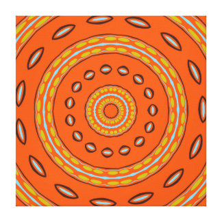 That Retro Feel share one Happy Mood Canvas Print