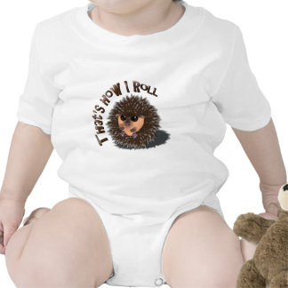 That s How I Roll rolled-up hedgehog T-shirt