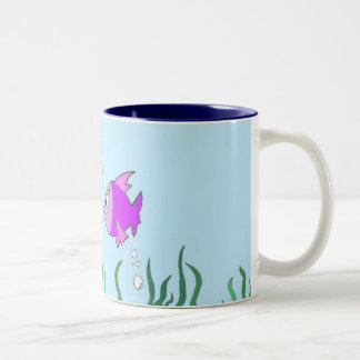 That Seems Fishy Two-Tone Coffee Mug