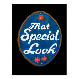 That Special Look 259 Postcard
