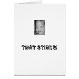 THAT STINKS! CARD