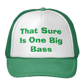 That Sure Is One Big Bass Hat