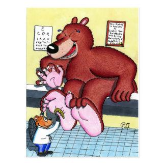 That Tickles Doc! Postcard