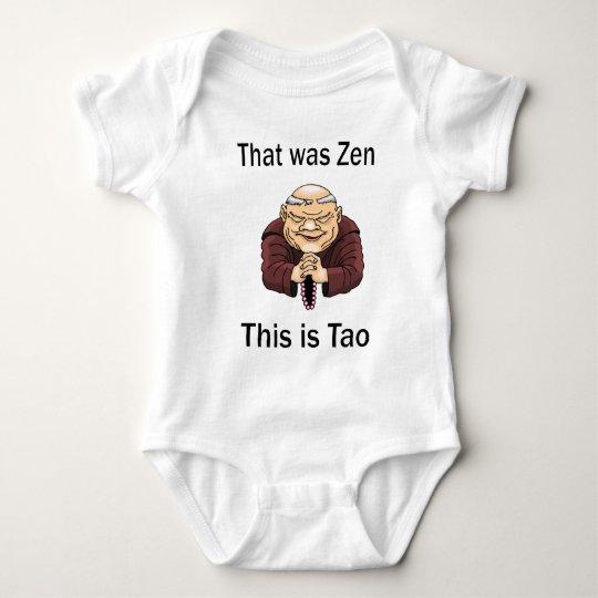 That Was Zen, This Is Tao Baby Bodysuit