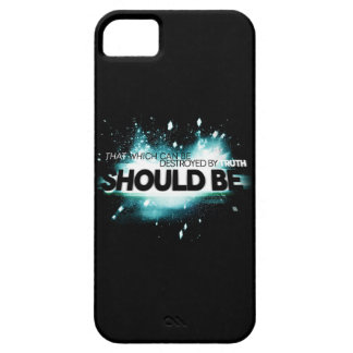 That Which Can Be Destroyed By Truth Should Be. iPhone SE/5/5s Case