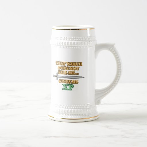 That Which Does Not Kill Me 18 Oz Beer Stein