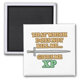 That Which Does Not Kill Me 2 Inch Square Magnet