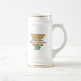 That Which Does Not Kill Me Beer Stein