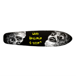 That Witchcraft of Old School is This? Skateboard Deck