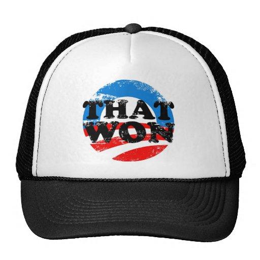 THAT WON MESH HATS