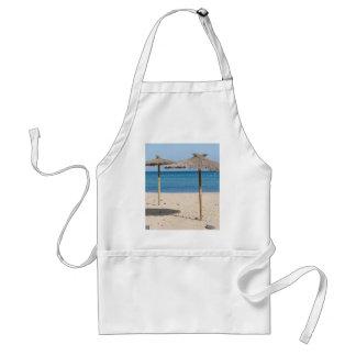 Thatch Beach Umbrellas Adult Apron