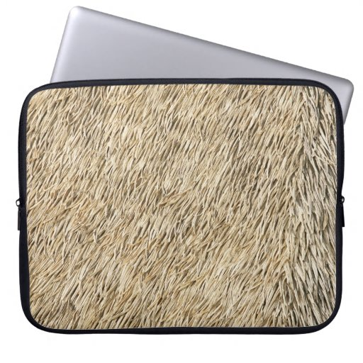 Thatch Material Computer Sleeve