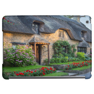Thatch roof cottage in England iPad Air Covers