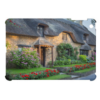 Thatch roof cottage in England iPad Mini Covers