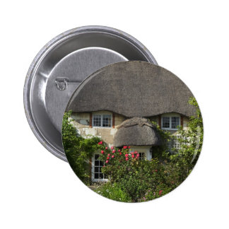 Thatched Cottage Button