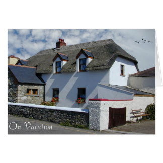 Thatched Cottage image for greeting-card Card