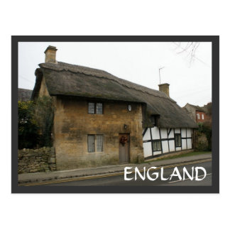 Thatched Cottage Postcard