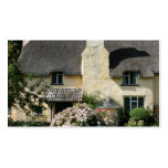 Thatched Cottage, Selworthy, Exmoor, Somerset, UK Double-Sided Standard Business Cards (Pack Of 100)