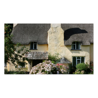 Thatched Cottage, Selworthy, Exmoor, Somerset, UK Business Card