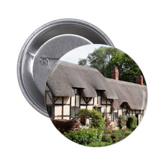 Thatched cottage Stratford England UK Buttons