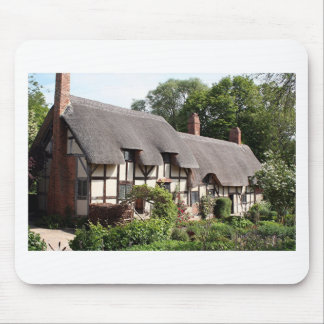 Thatched cottage, Stratford, England, UK Mouse Pads