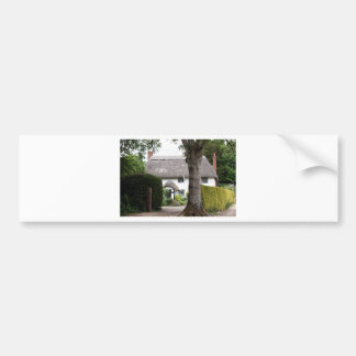 Thatched cottage, United Kingdom 10 Bumper Sticker