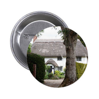 Thatched cottage United Kingdom 10 Button