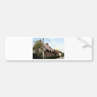 Thatched cottage, United Kingdom 13 Bumper Sticker