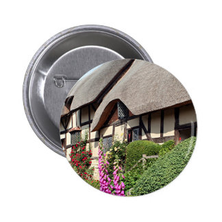 Thatched cottage United Kingdom 14 Buttons