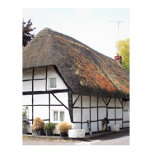Thatched cottage, United Kingdom 1 Letterhead Template