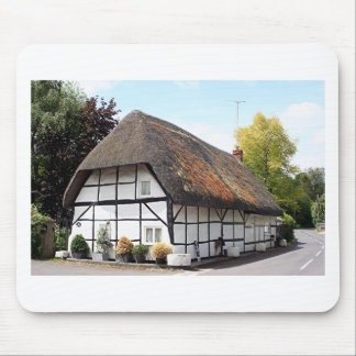 Thatched cottage, United Kingdom 1 Mouse Pads