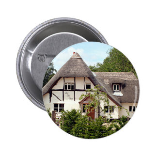 Thatched cottage United Kingdom 2 Buttons
