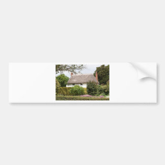 Thatched cottage, United Kingdom 4 Bumper Sticker