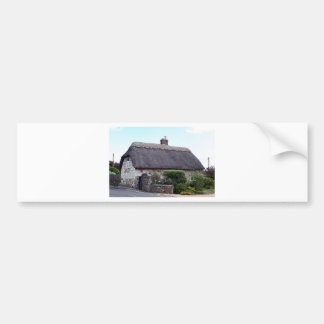Thatched cottage, United Kingdom 6 Bumper Sticker