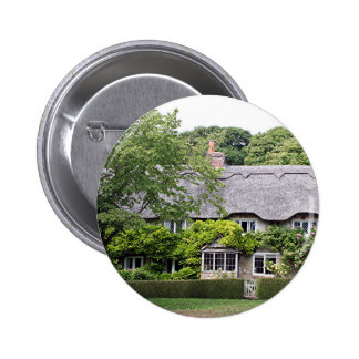 Thatched cottage United Kingdom 7 Pinback Buttons