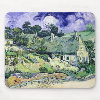 Thatched cottages at Cordeville Mousepads