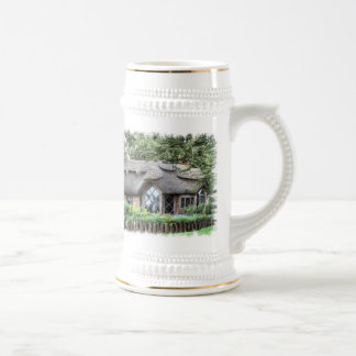 THATCHED COTTAGES BEER STEIN