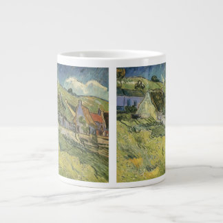 Thatched Cottages by Vincent van Gogh Extra Large Mug