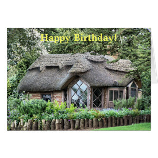 THATCHED COTTAGES CARD