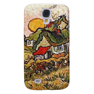 Thatched Cottages iPhone 3G Case